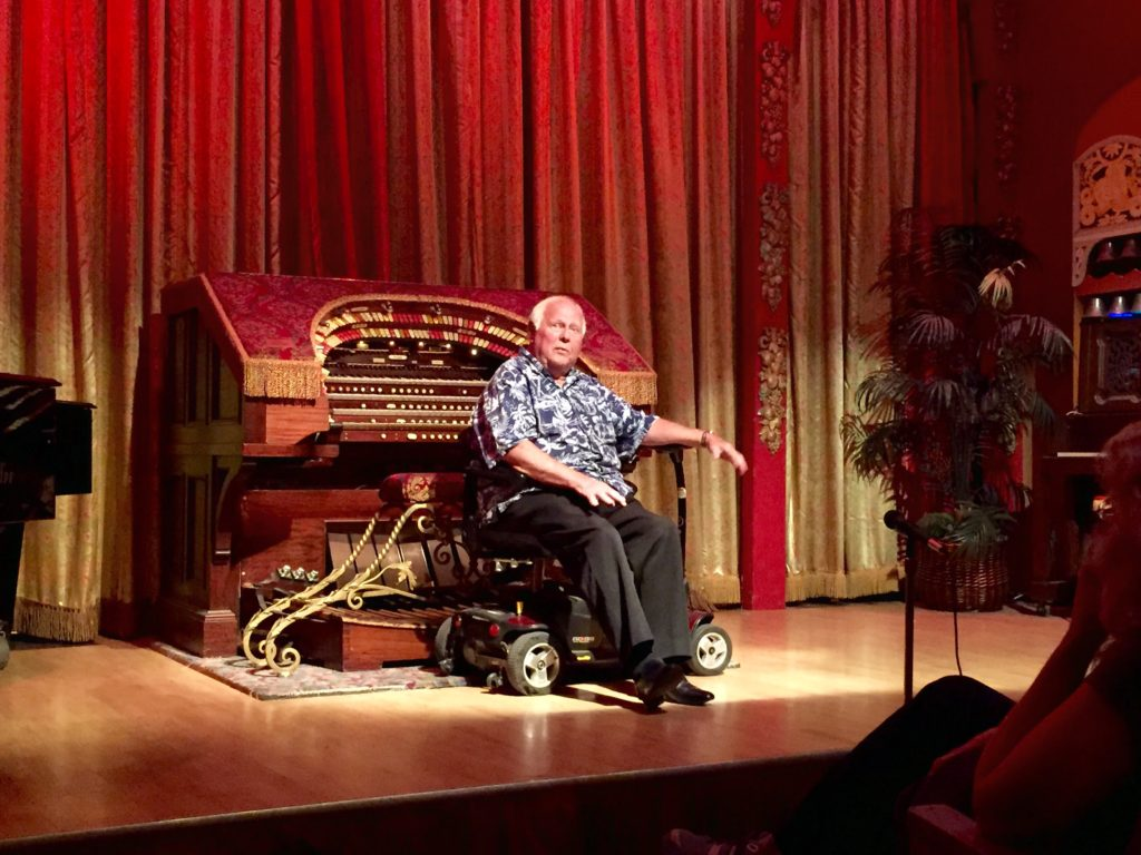 Bill shares the history of the theater and pipe organ and how he started his musical journey