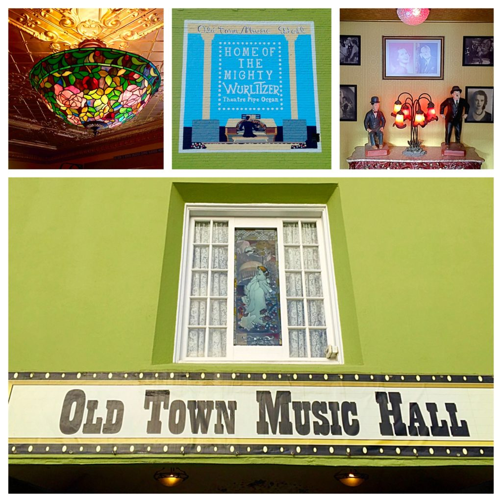 The Old Town Music Hall, a historic site in El Segundo, CA and home to The Mighty Wurlitzer
